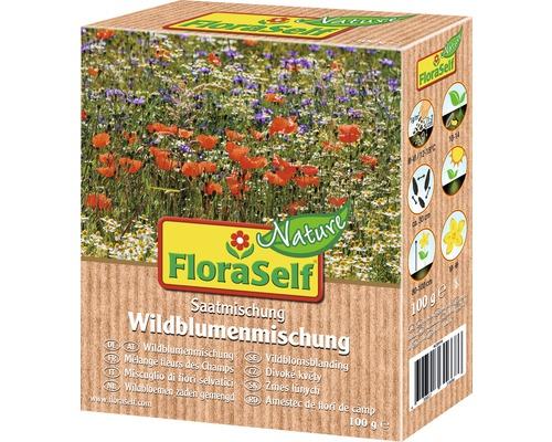 Semences de fleurs de prairie FloraSelf Nature ''Mélange de fleurs sauvages'' env. 100 m²