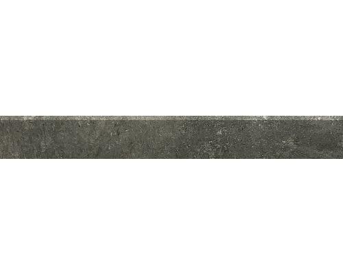 Plinthe Hometec black lappato 7,5x60cm