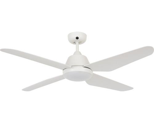 Ventilateur de plafond blanc Aria ø 122 cm avec télécommande, fonction été + hiver