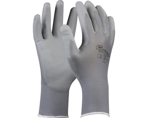 Gants de travail Micro Flex gris taille 9