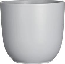 Pot de fleurs Mica Tusca céramique Ø28H25cm gris-thumb-0
