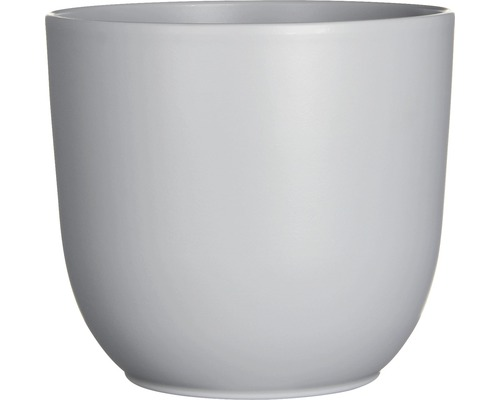 Pot de fleurs Mica Tusca céramique Ø28H25cm gris-0