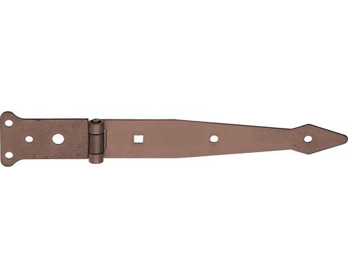Penture anglaise Duravis 302x48 mm brun rouille-0