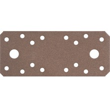 Raccord plat Duravis 133x55x2,5 mm brun rouille 1 unité-thumb-0