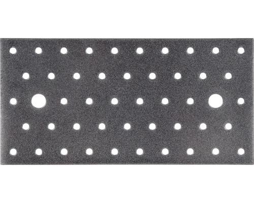 Plaque perforée Duravis 200x100x2 mm diamant noir 1 unité-0
