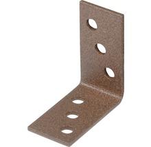 Raccord d'angle Duravis 40x40x20 mm brun rouille 1 unité-thumb-0