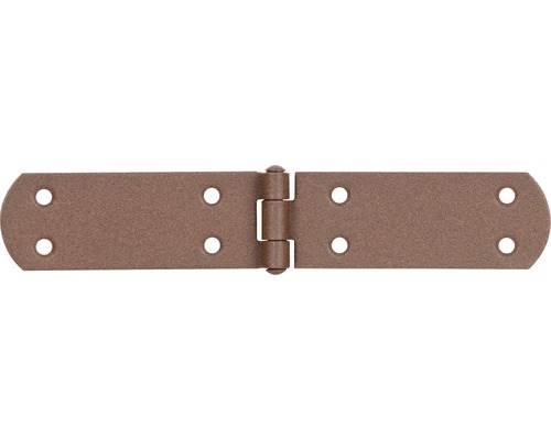 Charnière pour caisse Duravis 195x35x2 mm brun rouille 1 unité-0