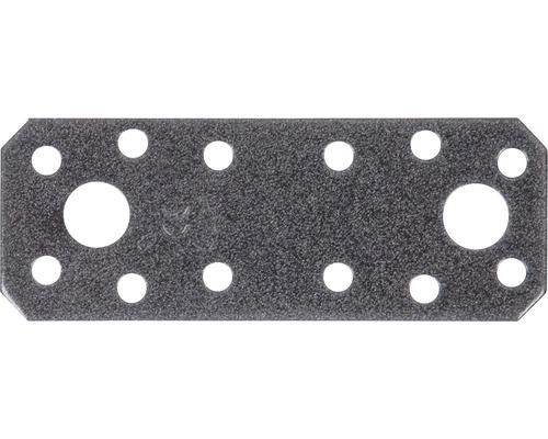 Raccord plat Duravis 96x35x2,5 mm diamant noir 1 unité