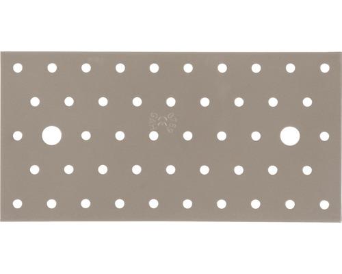 Plaque perforée Duravis 200x100x2 mm beige perle