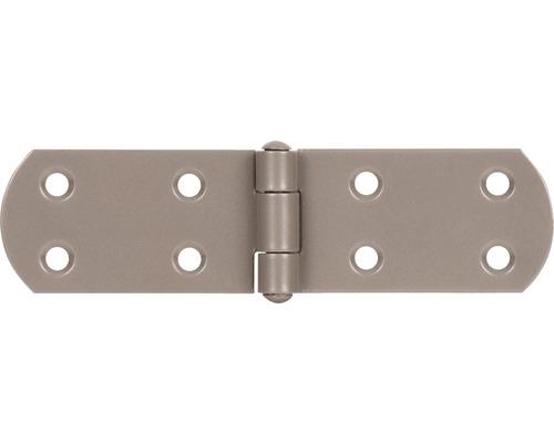 Charnière pour caisse Duravis 135x35x2 mm beige perle 1 unité