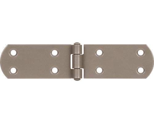 Charnière pour caisse Duravis 156x35x2 mm beige perle 1 unité