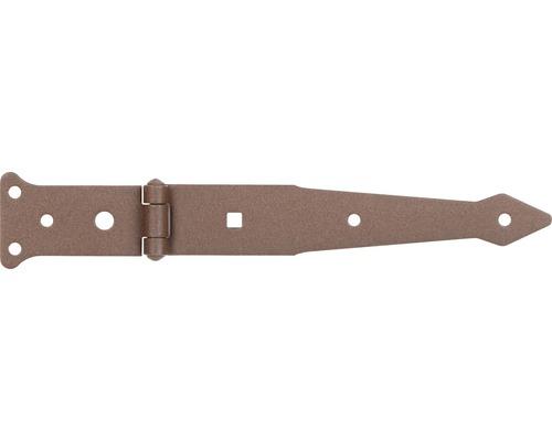 Penture anglaise Duravis 202x48 mm brun rouille
