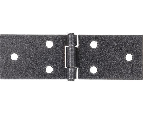 Charnière de table Duravis 32x100x1,5 mm diamant noir