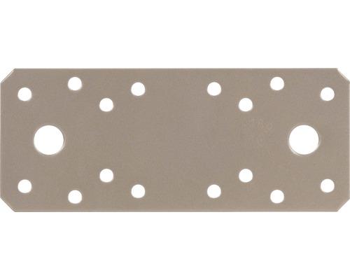 Raccord plat Duravis 133x55x2,5 mm beige perle 1 unité-0