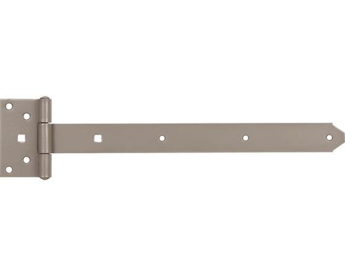 Penture droite Duravis 391x59 mm beige perle