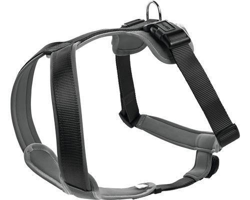 Harnais pour chien HUNTER Neopren 25mm 73-94cm noir-gris