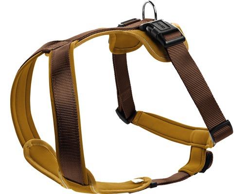 Harnais pour chiens HUNTER Neopren 25mm 73-94cm marron-caramel