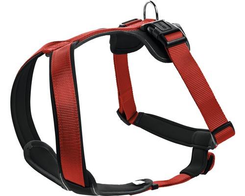 Harnais pour chien HUNTER Neopren 25mm 73-94cm rouge-noir