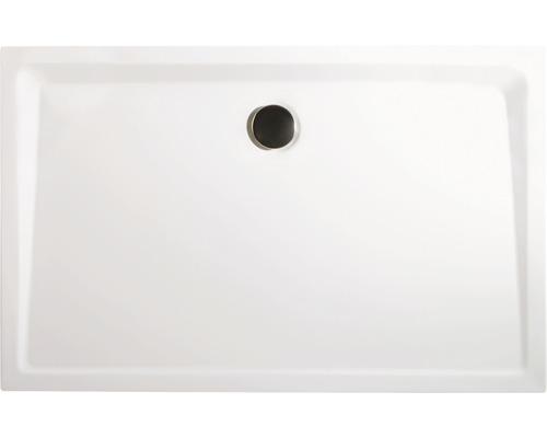 Receveur de douche Breuer Q72 Classic Line rectangulaire 90x120x3,5 cm 1291011000023, pieds pour receveurs et écoulement inclus