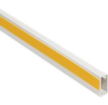 Conduite de câble autocollante ruban adhésif en mousse l20/h10mm blanc pur L 2m-thumb-0