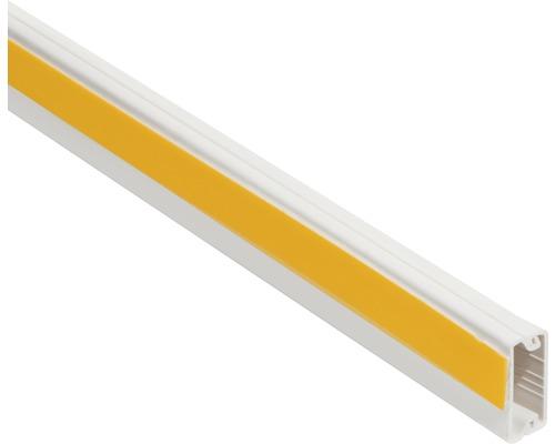 Conduite de câble autocollante ruban adhésif en mousse l20/h10mm blanc pur L 2m