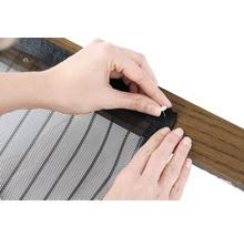 Moustiquaire EASYmaxx Magic clic rideau aimant sans perçage noir 90x210 cm-thumb-4