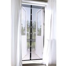 Moustiquaire EASYmaxx Magic clic rideau aimant sans perçage noir 90x210 cm-thumb-0