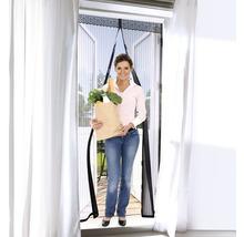 Moustiquaire EASYmaxx Magic clic rideau aimant sans perçage noir 90x210 cm-thumb-2