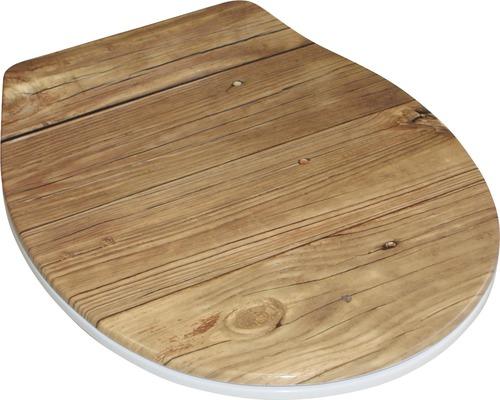 Abattant WC Form & Style Duroplast Oldwood