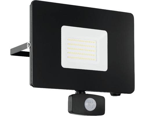 Projecteur extérieur LED à capteur 50W 4800 lm 5000 K blanc neutre Faeso noir H 200 mm IP44