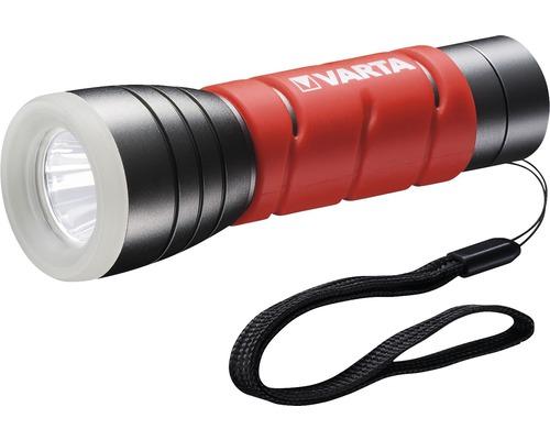 Varta LED lampe de poche Outdoor Sports rouge/gris