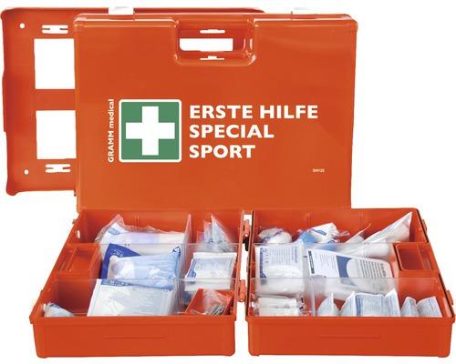 Coffret de pansements sport conforme à la norme DIN 13 157