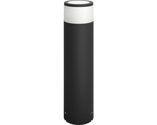 Borne extérieure LED Philips Hue Calla kit de base White & Color Ambiance 8W 600lm 2000-6500K blanc chaud-blanc lumière du jour noir H400mm compatible avec SMART HOME by hornbach