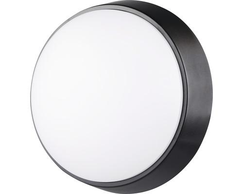 Applique murale LED IP54 10W 700 lm 4000 K blanc neutre ronde blanc/noir Øxp 215/80 mm