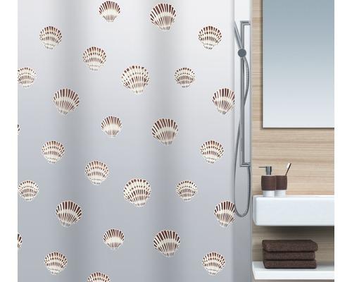 Rideau de douche Spirella Shell