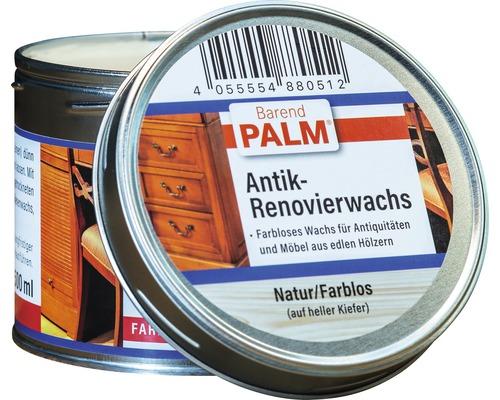Cire de rénovation antique cire d''abeilles Barend Palm incolore naturel 500ml-0