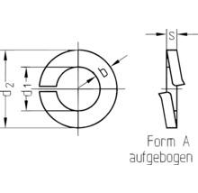 """Rondelle-ressort pour filetage 1/2"""" (simil. DIN 127) galvanisée, 25 pièces-thumb-1"""