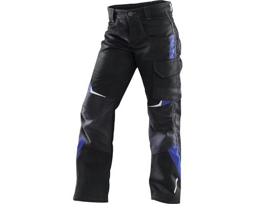 Pantalon pour enfant Kübler Kidz, noir/bleu, taille 98-104
