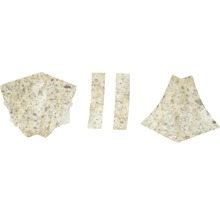 Kit d'accessoires pour profilé de raccordement mural 23 Oldstone 4pièces-thumb-0