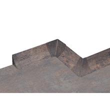 Kit d'accessoires pour profilé de raccordement mural 23 Rusty Iron 4pièces-thumb-2