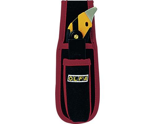 Cutter OLFA L5 design en X avec tige en acier, étui de ceinture et 5lames de rechange
