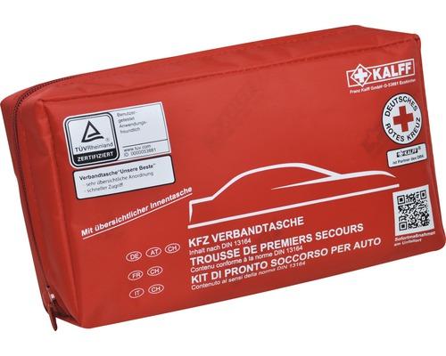 Trousse de premiers secours pour véhicules selon la norme DIN13164