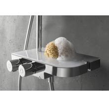 Colonne de douche avec thermostat Breuer Quick 72 Aquamaxx 340 pomme haute ronde chrome 1294008000099-thumb-4