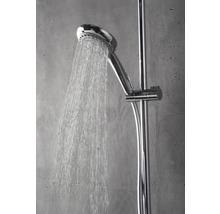 Colonne de douche avec thermostat Breuer Quick 72 Aquamaxx 340 pomme haute ronde chrome 1294008000099-thumb-3