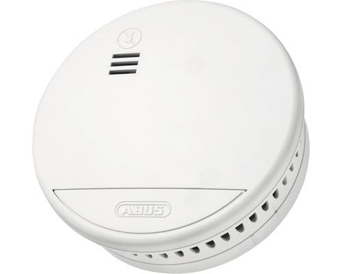 Détecteur de fumée radio Abus RWM165 durée de vie: 10 ans 102x102x36 mm blanc