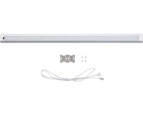 Rallonge pour éclairage d''armoire LED 9,6W 900lm 3000/3300K blanc chaud L 600mm avec câble de raccordement