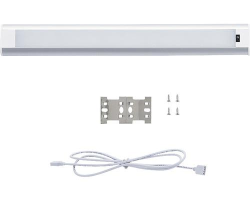 Rallonge pour éclairage d''armoire LED 5W 430lm 3000/3300K blanc chaud L 300mm avec câble de raccordement