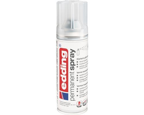 Vernis Permanent Spray edding brillant 200 ml