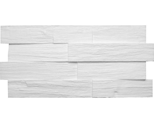 Panneau créatif Wood blanc 50x23,5 cm