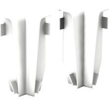 Angles intérieurs pour plinthe en MDF blanc 18x58 mm-thumb-0